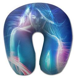 Laurel Neck Pillow Human Body Design Travel U-Shaped Pillow