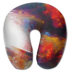Laurel Neck Pillow Color Man Picture Travel U-Shaped Pillow