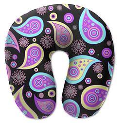 neck pillow paisley pattern u