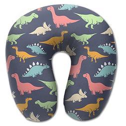 Laurel Neck Pillow Color Toy Dinosaur Travel U-Shaped Pillow