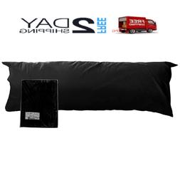 New Body Pillow Case Cover 100% Cotton ; 20 x 54 Inches Asso