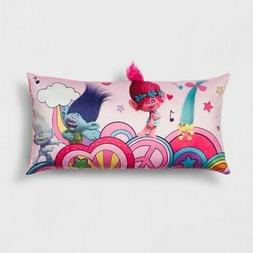 NEW Trolls Kids' Decorative Soft and Comfy Body Pillow - Mul