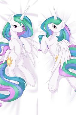New My Little Pony Princess Celestia Hug Body Pillow Case Co