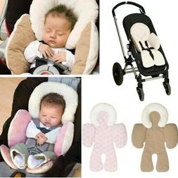 Toddler Baby Car Seat Stroller Cushion Pad Liner Head Body S