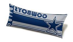 The Northwest Company NFL Dallas Cowboys Body Pillow, Blue,