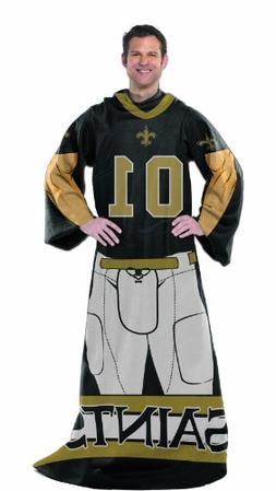 NFL New Orleans Saints Full Body Player Comfy Throw