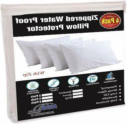 Niagara Sleep Solution 4 Pack Waterproof Pillow Protectors S