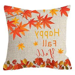 ITFRO Nice Gift Golden Autumn Greetings Happy Fall Yall Red