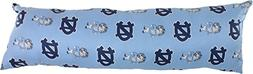 College Covers North Carolina Tar Heels Printed Body Pillow,