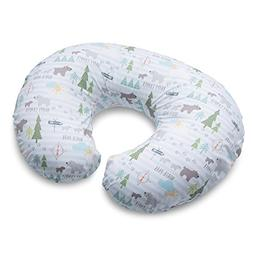 Boppy Nursing Pillow and Positioner, North Park, Blue