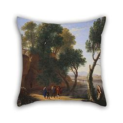Oil Painting Van Swanevelt, Herman - An Italian Landscape Th