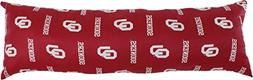 """College Covers Oklahoma Sooners Printed Body Pillow, 20"""" x 6"""