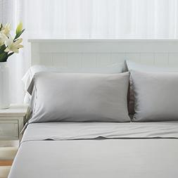 DTY Bedding Premium Queen Bamboo Sheets - Luxuriously Soft a