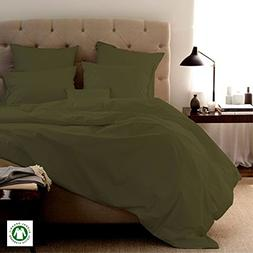 Organic Bed Sheets-Size-QUEEN, Color-SAGE sheets are comfort
