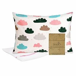 Organic Toddler Pillowcase 13 X 18 by Charon Cotton - Toddle