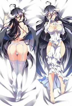 Overlord Albedo Dakimakura Anime Body Pillow Cover Case 150x