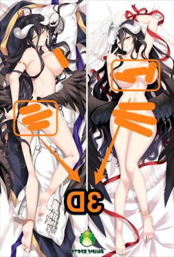Overlord Albedo sm2231 Anime 3D butt & 3D breast body pillow