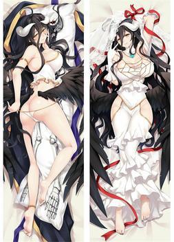 Overlord Hot Sexy Babe Albedo Dakimakura Anime Body Pillow C