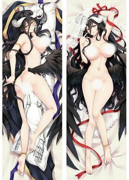 Overlord Wedding Albedo Nude Dakimakura Anime Body Pillow Co
