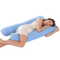 ele ELEOPTION Oversized Full Body Pregnancy Pillow U Shape C