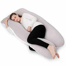 NiDream Bedding  Full Body Pillow with Washable Cotton Cover