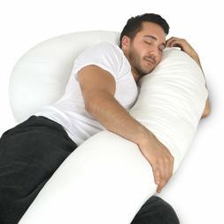Full Body Pillow - C Shaped Bed Pillow for Men & Women by Ph