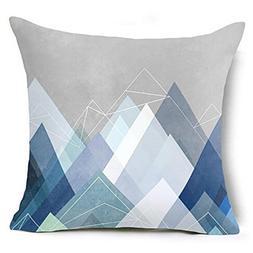 Pillow Case,LtrottedJ Geometric Pillow Case Waist Cushion