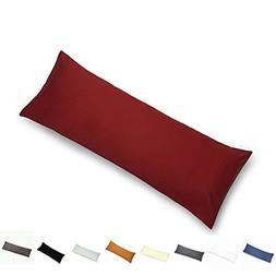 YAROO Body Pillow Cover 21x54 Inch,Body Pillowcase,400 Threa