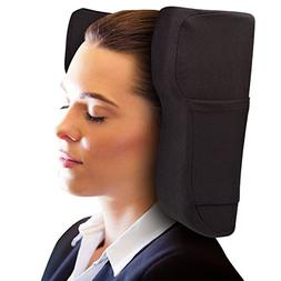 Travel Pillow Designed by Physical Therapist- Memory Foam Cu