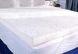My Pillow Three-inch Mattress Bed Topper - By MyPillow