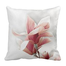 Pillowcase A Magnolia Flower In Pink Pillow Cover 16 Inch