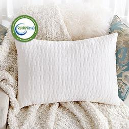 Sable Shredded Memory Foam Pillow for Sleeping Side Sleepers