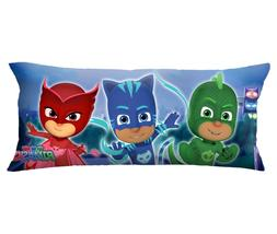 PJ Masks Body Pillow Cover with Zipper, Kids Bedding, 20 x 5