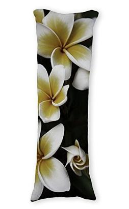 Diuangfoong Plumeria Rubra Pillowcase Pillow Cover 20 X 54 I