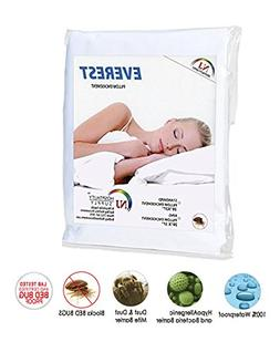 Everest Premium Plus Pillow Protector Encasement100% Water P