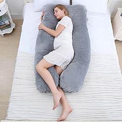 Alisha Pregnancy Body Pillow With Washable Cotton Cover, U S