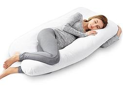 AngQi 55-inch Pregnancy Pillow, U Shaped Maternity Body Pill