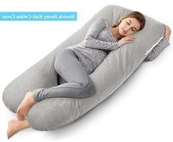 AngQi Full Pregnancy Pillow, Body Support Pillow, U Shaped M