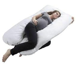Pregnancy Pillow, Full Boby Matrnity Pillow with Contoured U
