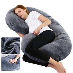 Pregnancy Pillow, Full Body C-Shaped Maternity Pillow for Pr