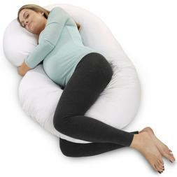 PharMeDoc Pregnancy Pillow - Full Body Maternity Pillow for
