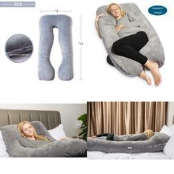 Queen Rose Pregnancy Pillow - Full Body U Shaped Maternity P