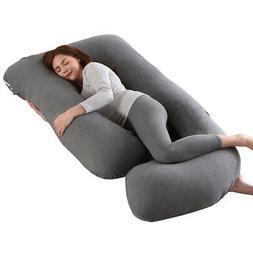 Pregnancy Pillow Maternity Belly Contoured Body J Shape Extr