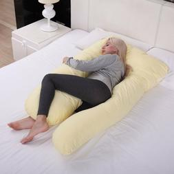 Pregnancy Pillow Maternity Belly Contoured Body U Shape Extr