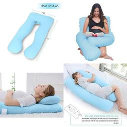 Meiz Pregnancy Pillow - Maternity Pillow for Side Sleeping -