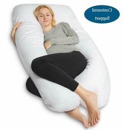 Queen Rose Pregnancy Pillow, U-Shaped Full Body Pillow For B