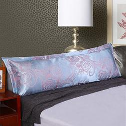 D&L Pringting Polyester Body Pillowcase,Long Luxurious Beddi