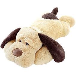 MorisMos Puppy Dog Stuffed Animal Soft Plush Dog Pillow Big