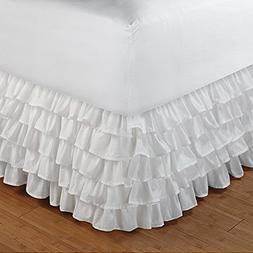 Floris Fashion Queen 300TC 100% Egyptian Cotton White Solid
