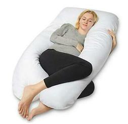 QUEEN ROSE Pregnancy Pillow, U-Shaped Maternity Pillow,Extra